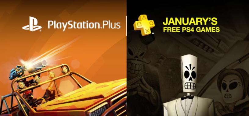 Estos son los juegos de PlayStation Plus para el mes de enero