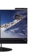 Los monitores Lenovo ThinkVision incluyen USB-C, carga inalámbrica y cámara Intel RealSense