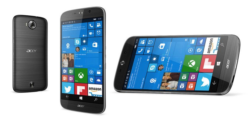 Acer Liquid Jade Primo, Snapdragon 808 y USB Type-C con Windows 10 Mobile