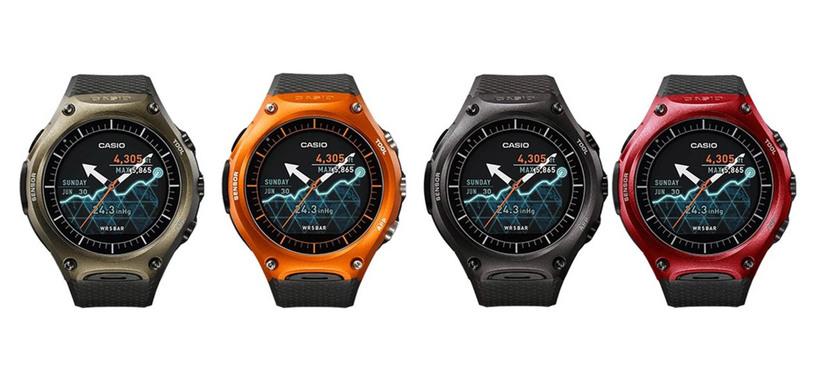 Casio se apunta a los relojes con Android Wear para deportes al aire libre