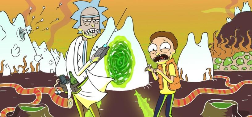 'Rick y Morty' se pasan al anime en el primer breve avance de los nuevos episodios