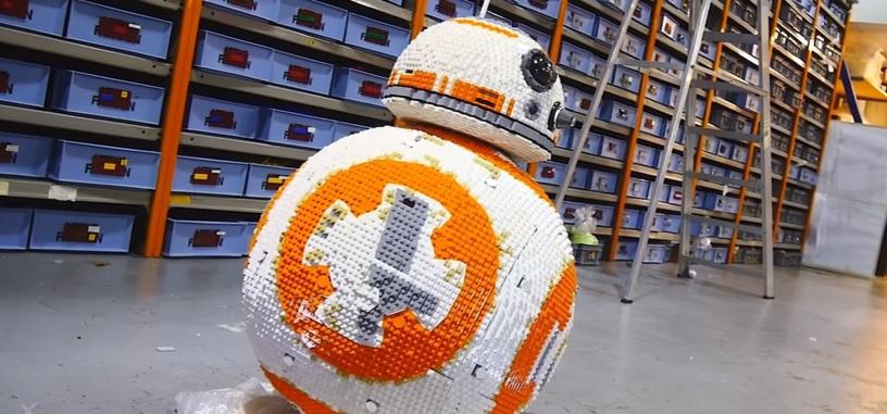 ¿Hay algo que no se pueda construir en Lego? Es el turno de BB-8