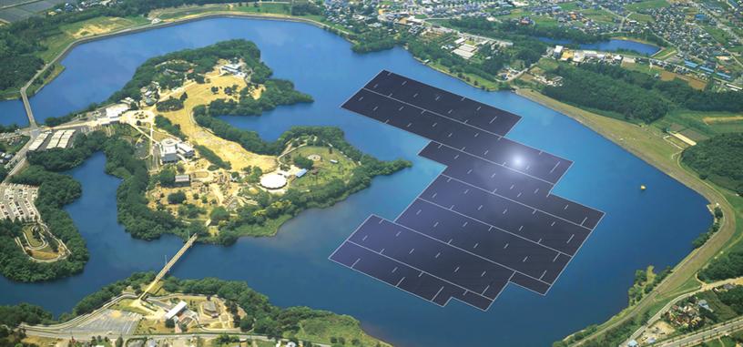 Japón construirá el parque solar flotante más grande del mundo de 13,7 MW