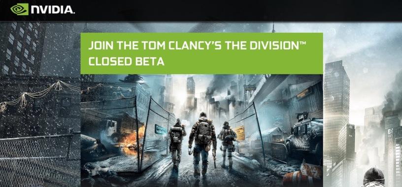 Nvidia ofrece códigos de acceso para la beta cerrada de 'The Division'