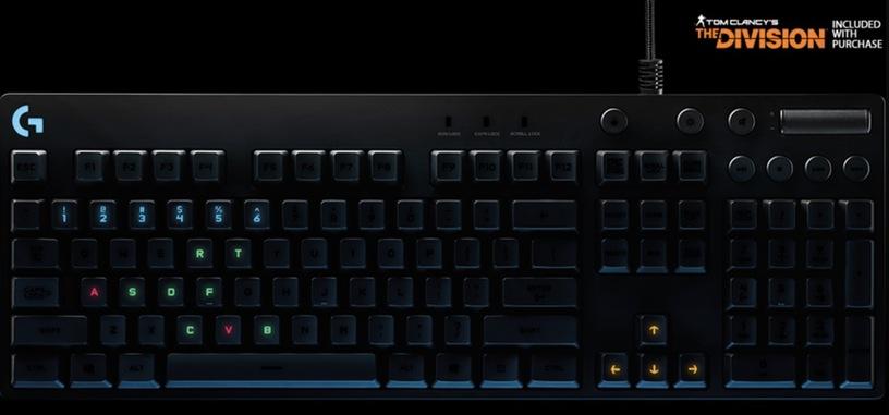 Logitech G810 Orion Spectrum, nuevo teclado para juegos con iluminación RGB
