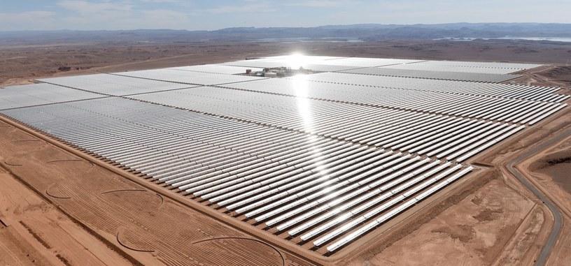 Marruecos pone en marcha la que será la planta solar más grande del mundo