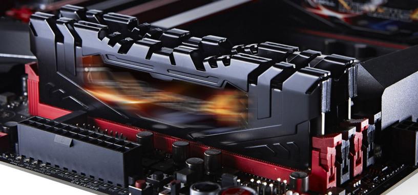 ¿Cómo escala el rendimiento de la memoria DDR4 de los 2133 a los 4000 MHz?