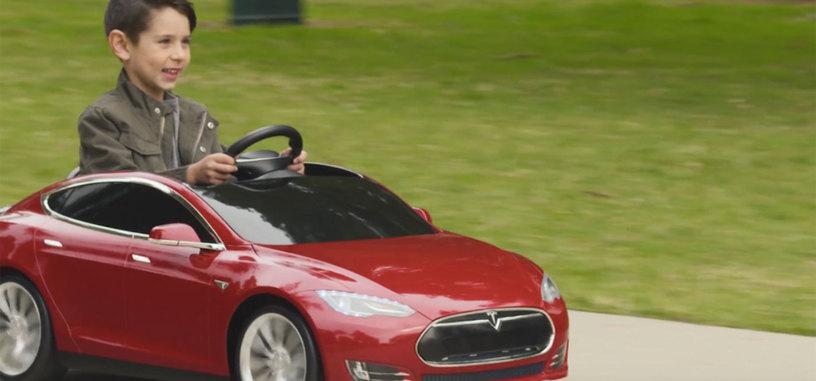 Los pequeños podrán conducir su propio Tesla