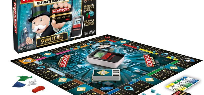 El Monopoly sustituye los billetes por dinero electrónico