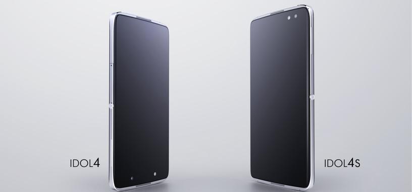 Alcatel Idol 4 y Idol 4S, teléfonos con aspiraciones de gama alta