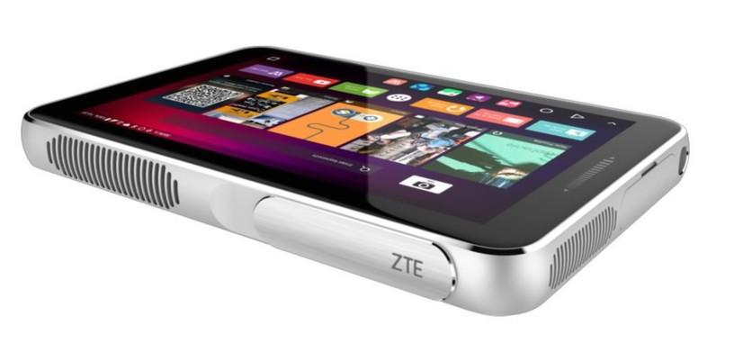 ZTE Spro Plus, una tableta Android con proyector incorporado