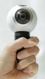 Graba vídeo de 360º sin dar vueltas gracias a Gear 360 de Samsung