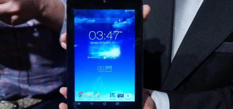 Asus presenta su Memo Pad HD 7 por 129 dólares: el hardware del Nexus 7 pero con cámara trasera y tarjeta microSD