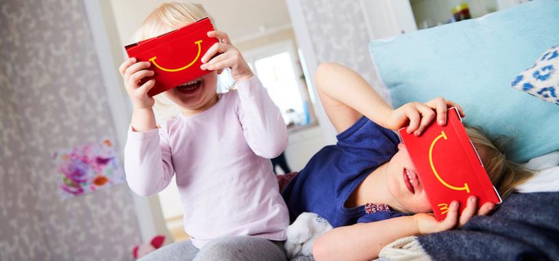 La caja del 'Happy Meal' se convierte en gafas de realidad virtual
