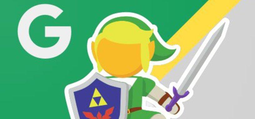 Link es el nuevo muñeco de Google Maps por un día