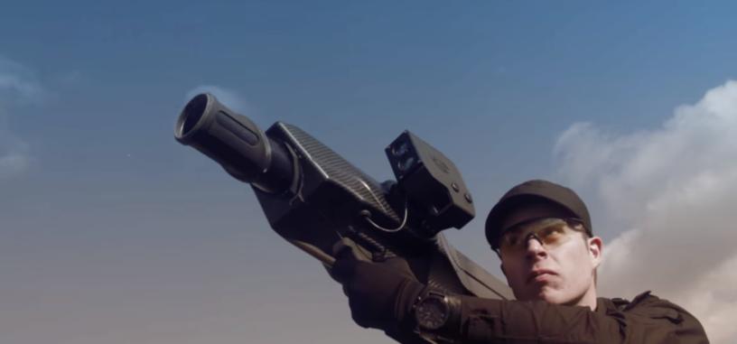 Crean una bazuca especial para defenderse de los drones