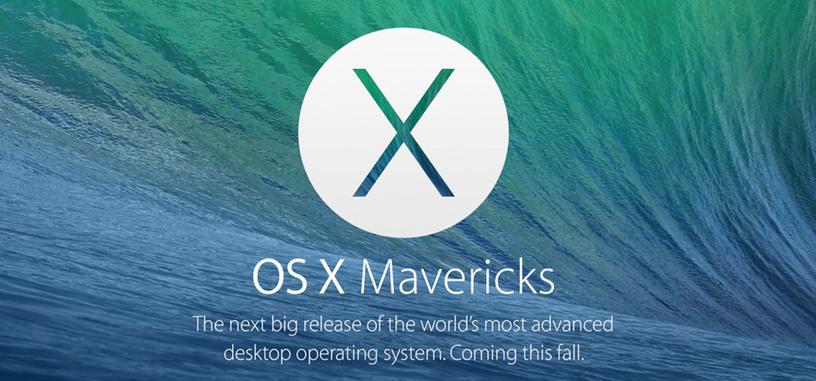 Apple distribuye la actualización de OS X 10.9.2 para corregir un fallo crítico de seguridad