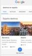 Google te ayuda a planear tus vacaciones directamente desde su buscador