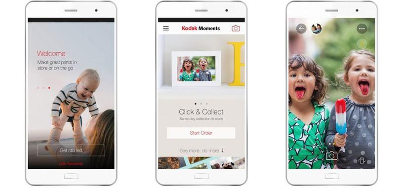 Kodak Moments es una aplicación de Kodak para ayudarte a recordar tus mejores momentos