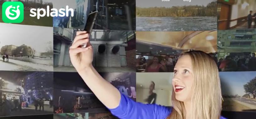La aplicación Splash te permite crear vídeos en 360 grados