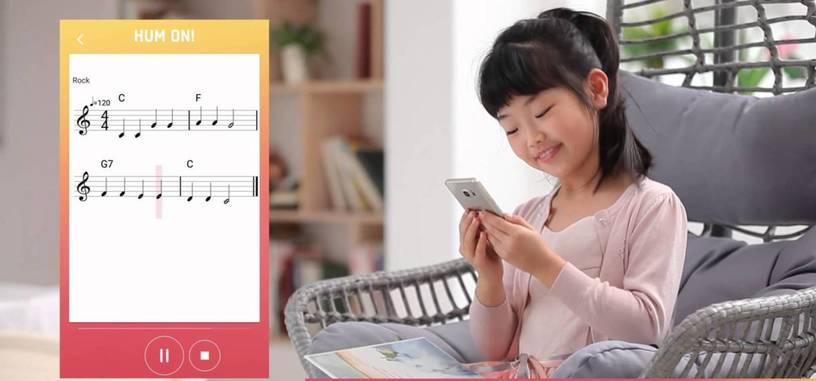 Tú tarareas y esta aplicación de Samsung lo convierte en música