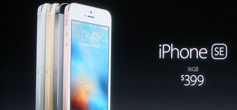 Apple presenta novedades: Watch baja de precio, iPhone SE y nuevo iPad Pro