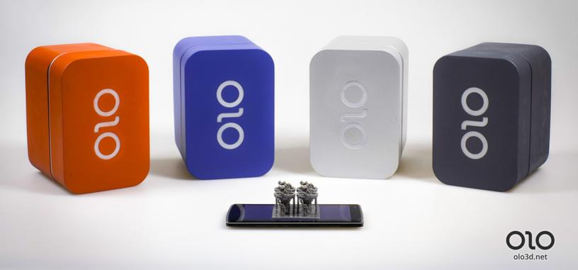 OLO es una impresora 3D que puedes tener en casa por menos de cien dólares