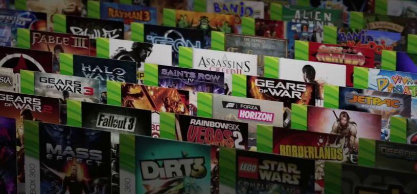 Los usuarios de Xbox One no utilizan casi la retrocompatibilidad con juegos de Xbox 360