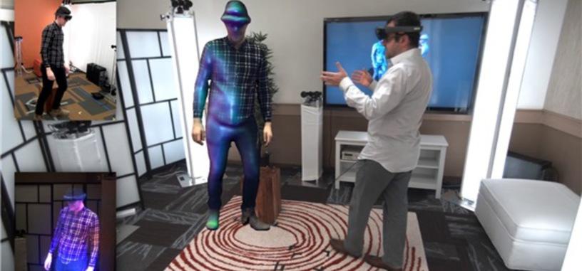 Microsoft desarrolla un sistema de 'comunicación holográfica' para sus gafas HoloLens