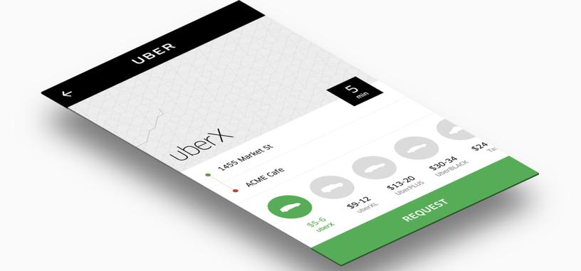 Uber ha creado un widget para incluir su servicio en aplicaciones de terceros