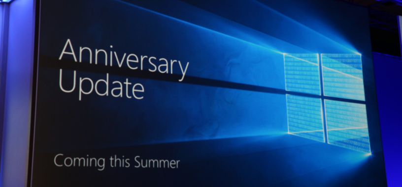 Microsoft distribuirá una gran actualización de Windows 10 por su primer aniversario