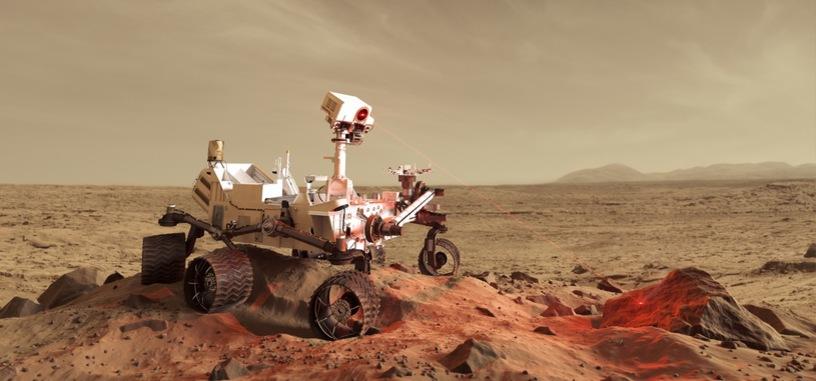 La NASA lanza un juego para conmemorar el cuarto aniversario de Curiosity en Marte