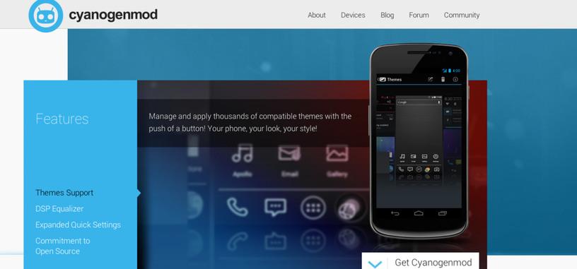 Cyanogenmod se convierte en empresa tras recibir una inversión de 7 millones de dólares