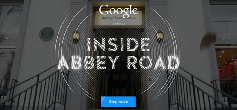 Gracias a la realidad virtual podrás conocer el interior de los estudios de Abbey Road