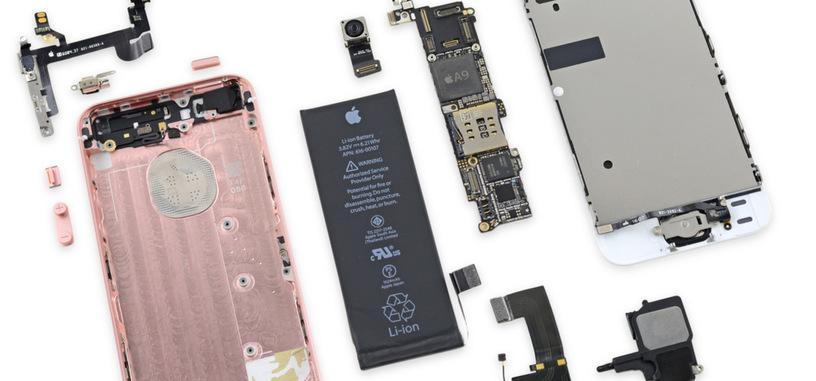 iFixit desmonta el iPhone SE, y descubre una mezcla de componentes nuevos y viejos