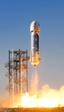 Así aterrizó por tercera vez el cohete reutilizable New Shepard