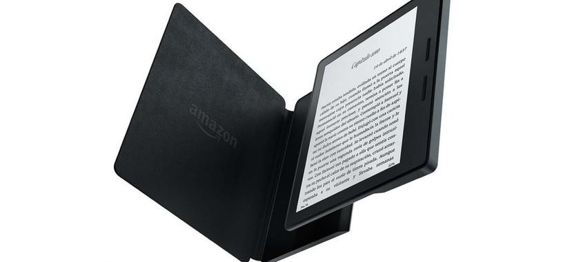 Amazon Kindle Oasis: más pequeño, pantalla táctil retroiluminada, y autonomía para 20 meses