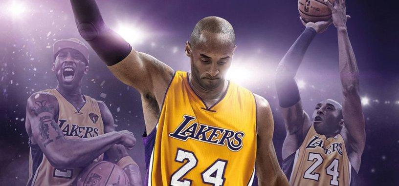 Kobe Bryant también se despide del baloncesto con la Edición Leyenda de 'NBA 2K17'