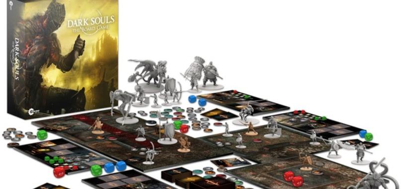 Tres minutos ha tardado el juego de mesa de 'Dark Souls' en financiarse en Kickstarter