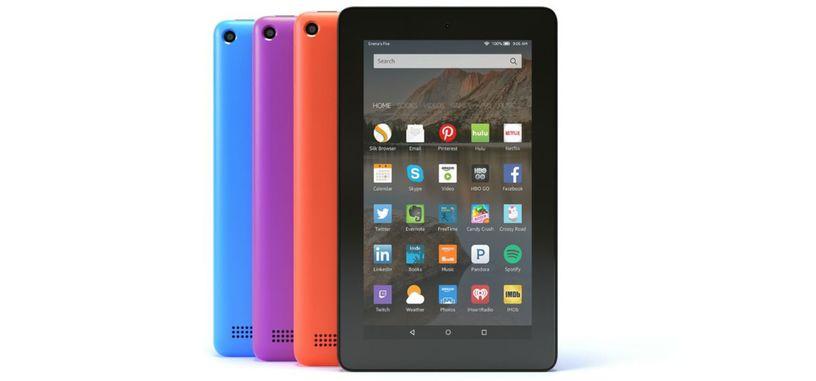 Amazon amplía las opciones de colores y almacenamiento para la tableta Fire