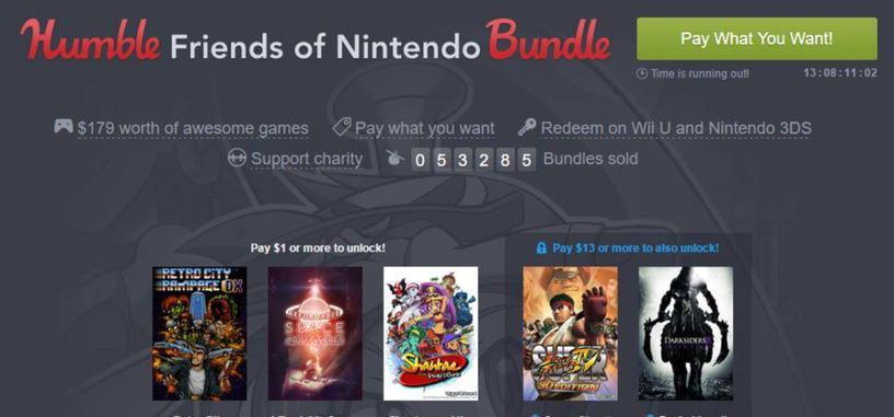 Los amigos de Nintendo se reúnen en un Humble Bundle para Wii y 3DS