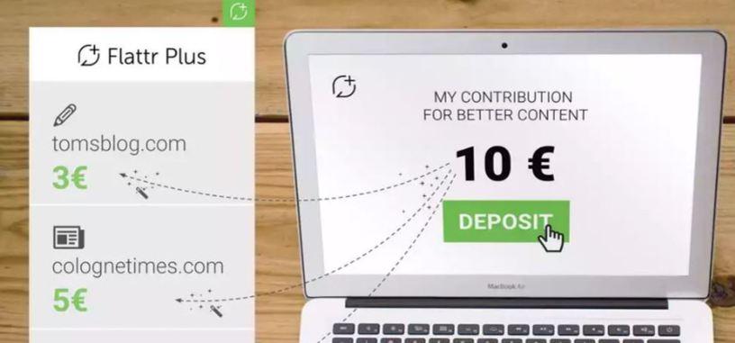Adblock crea Flattr Plus, un sistema de propinas para páginas web