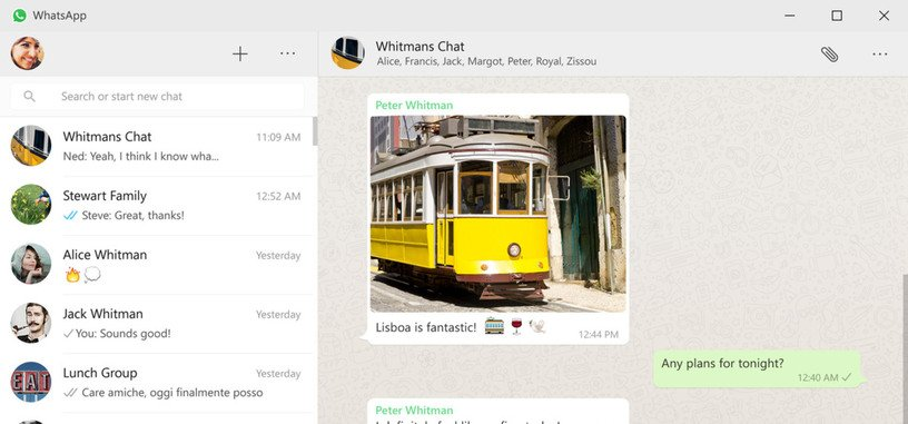WhatsApp ya cuenta con cliente de escritorio para Windows y OS X