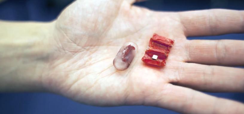 Investigadores desarrollan un robot que puedes tragar para trabajar en el estómago