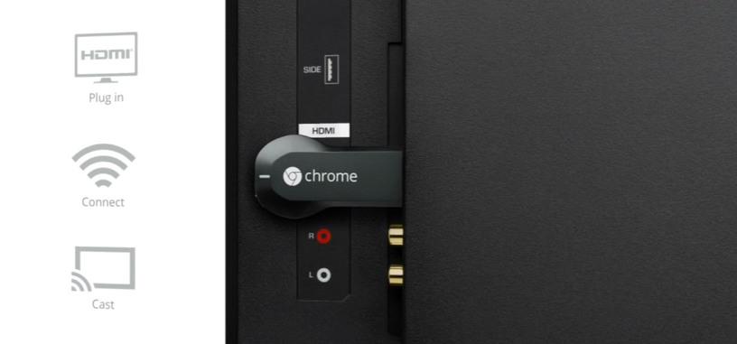Chromecast llegaría a Reino Unido y otros países europeos el 19 de marzo