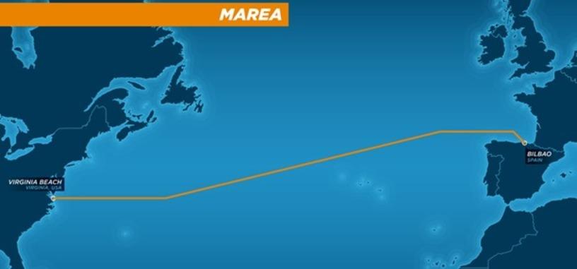Microsoft y Facebook desplegarán un cable submarino de 6.600 km y 160 Tbps