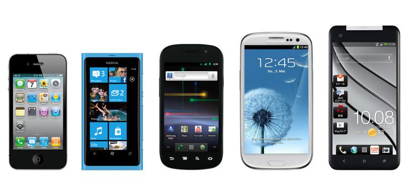 Las ventas de smartphones superan ya a las de los teléfonos móviles tradicionales
