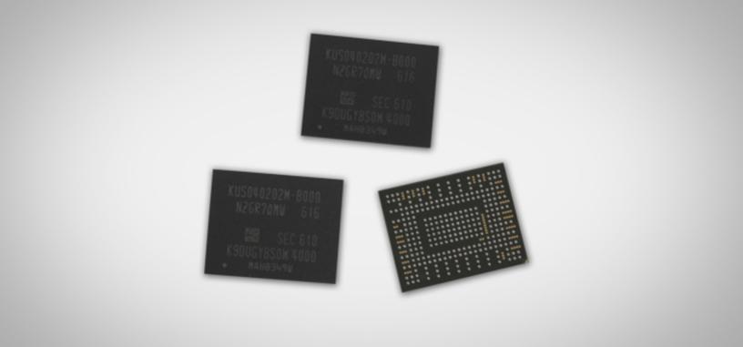 Samsung mete 512 GB en un único chip para sus próximos SSD