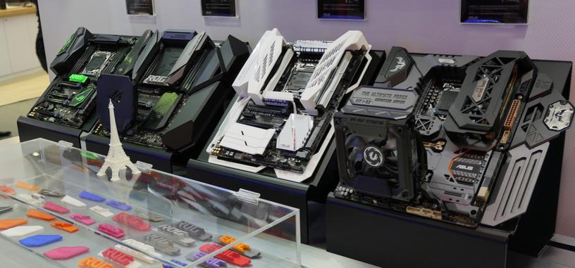 Asus muestra los proyectos de impresión 3D para sus placas base