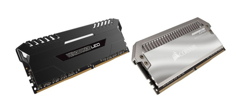 Corsair presenta sus nuevos kits de memoria, Vengeance LED y Dominator Platinum SE